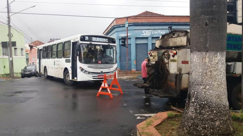 Artesanato Com Papel ~ Fotos Buraco na Avenida S u00e3o Carlos prejudica tr u00e2nsito