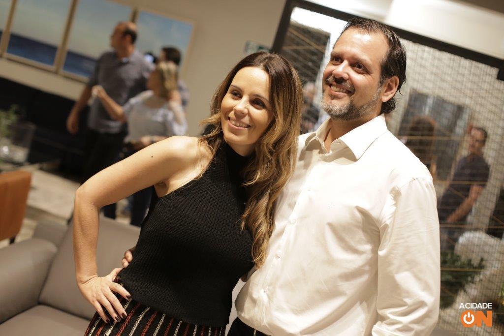 Karina Tostes e André Carrazzoni (foto: Murilo Corte / ME)