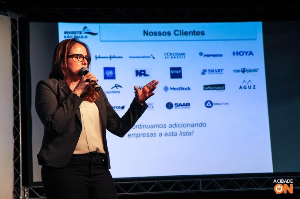 A 3ª edição do Agenda São Carlos teve a jornalista Mara Luquet como uma das palestrantes no evento (Amanda Rocha/ACidadeON