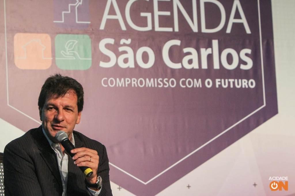 AA 3ª edição do Agenda São Carlos teve a jornalista Mara Luquet como uma das palestrantes no evento (Amanda Rocha/ACidadeON)