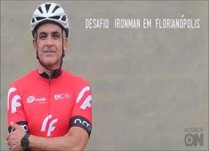 Triatleta foi baleado há cinco anos durante um treino de ciclismo
