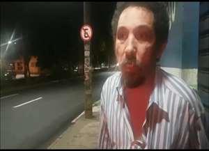 Casal que dirigia um Corolla, se envolveu em um acidente na avenida Francisco Junqueira