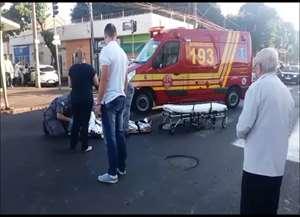 Acidente foi no cruzamento da avenida Saudade com a rua Goiás