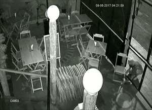 As imagens foram entregues a polícia, que vai investigar o caso