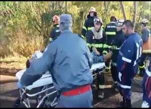 Acidade foi registrado na rodovia Abrão Assed, em Santa Cruz da Esperança
