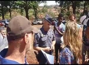 Major PM Loffler negocia com a advogada Taís Roxo a saída do grupo