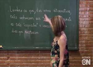 Veja vídeo com a professora Ana Oliveira, do Colégio Moura Lacerda e acabe com suas dúvidas antes do vestibular