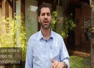Luiz Ravagnani, gerente comercial da Hugo Engenharia, diz que sustentabilidade é garantia de qualidade de vida dentro de casa