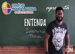 Veja vídeo com o professor Renato da Silva Cândido, do Colégio Moura Lacerda e tire suas dúvidas para o Enem