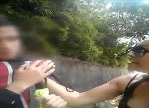 Caso aconteceu dia 24 de outubro na Avenida Comendador Alfredo Maffei, em São Carlos; Vídeo viralizou nas redes sociais