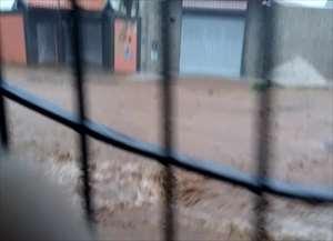 Foram 15 milímetros de chuva, metade do registrado desde o começo do mês