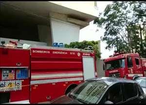 Panela deixada no fogão teria causado o incidente no 8º andar de um prédio