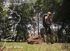 Bombeiro aposentado de Jardinópolis encara a partir de janeiro uma viagem de 500 dias a pé por todo o litoral do País