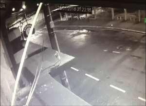 Proprietários instalaram nove câmeras para pegar o ladrão