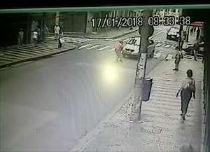 Motorista atropela três pessoas no Centro de Campinas
