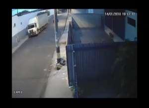 Ação no dia 14 de janeiro foi filmada por câmeras de segurança; local teve nova tentativa de furto no domingo (28)