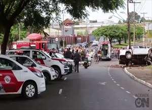 Roubo nos Campos Elíseos terminou com um morto e outro ferido na manhã desta segunda-feira (12)