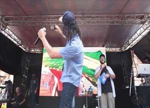 Porta voz do evento, o rapper anunciou a lista completa e comemorou sua segunda participação no evento