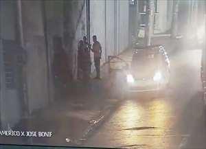 Suspeito fugiu após a briga, mas foi localizado pela Polícia Militar com ajuda do Olho de Águia, no Centro de Ribeirão Preto