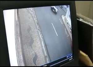 Caso aconteceu no interior de São Paulo e foi registrado por câmeras de segurança nesta terça-feira (15)