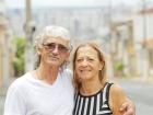Glicério e Cleusa se reencontraram para continuar a história de amor em Ribeirão. - Foto: F.L.Piton / A Cidade