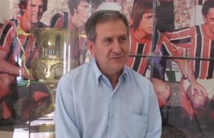 Reprodução/TV Botafogo - Virgílio Pires já negocia com jogadores para a A1