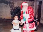 Todo Natal, Seu Augusto se vestia de Papai Noel para alegria das crianças do bairro São José. - Foto: Arquivo Pessoal