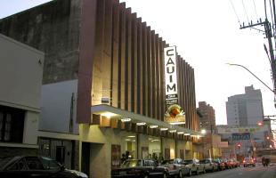 Cineclube Cauim, no Centro de Ribeirão Preto - Foto: Divulgação