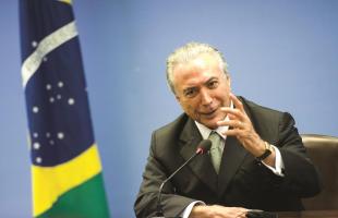Marcelo Camargo/Agência Brasil - 23.fev.2016 - O presidente em exercício, Michel Temer (PMDB)