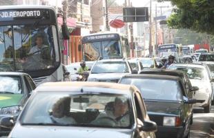 Matheus Urenha / A Cidade - Trânsito Ribeirão Preto