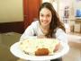 Giovana Barnabé conquistou o namorado e a sogra com seus pratos deliciosos