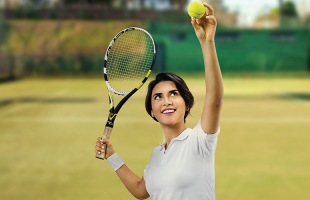 Reprodução EPTV - Campeonato Internacional de tênis