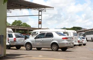 Centralizado da Prefeitura, onde ficam os veículos utilizados pelas secretarias e demais setores - Foto: Kris Tavares