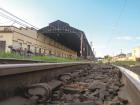 ponto de partida  Estação Ferroviária deve ser o início da viagem de trem (Foto Amanda Rocha) - Foto: fotos amanda rocha/Tribuna