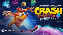 Jogamos o inédito Crash Bandicoot 4: Its About Time