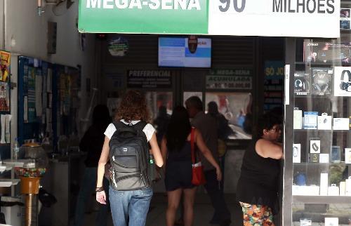 A aposta simples, com seis dezenas, custa R$ 3,50 (Foto: Denny Cesare/Código19) - Foto: (Foto: Denny Cesare/Código19)