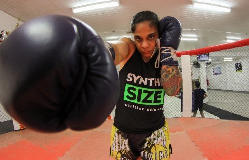 A araraquarense Livinha estreia neste sábado (22) no UFC, em São Paulo. (Foto: Amanda Rocha) - Foto: Amanda Rocha