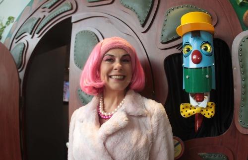 ACidade ON - Campinas - A atriz Angela Dip, a Penélope do Castelo, participou da apresentação da mostra em Campinas (Foto: Denny Cesare/Código 19)