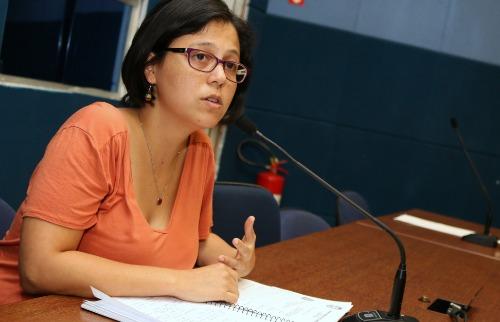 A vereadora Mariana Conti (Psol). (Foto: Divulgação/Câmara de Campinas) - Foto: Divulgação