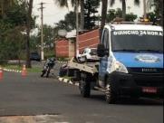Motociclista bate em guincho e morre em Sumaré