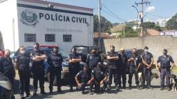 Ação conjunta contra tráfico de drogas detém dois em Pedreira