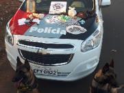 Trio é preso por tráfico no Romilda Barberi