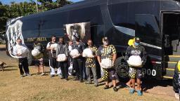 Ponte e torcidas promovem doação de cestas básicas