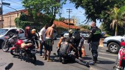 Motociclista fica ferida em acidente na zona Norte de Ribeirão
