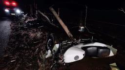 Homem morre após grave acidente com motocicleta em rodovia