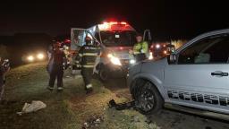 Grave acidente na rodovia SP-255 deixa seis pessoas feridas