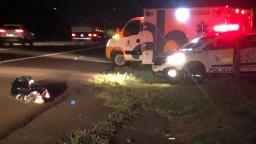 Homem atropelado na rodovia é identificado pela polícia