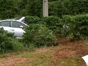 Quatro pessoas ficam feridas em acidente em rodovia da região
