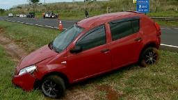 Dois acidentes deixam trânsito lento no Anel Viário Norte