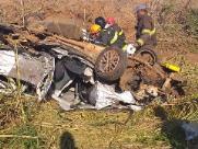 Um morre e dois ficam feridos em acidente próximo a Taquaritinga